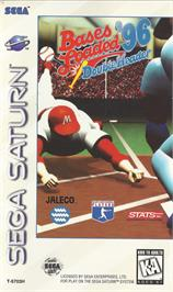 Box cover for Bases Loaded '96: Double Header on the Sega Saturn.