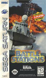 Box cover for Battle Stations on the Sega Saturn.