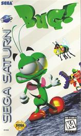 Box cover for Bug on the Sega Saturn.