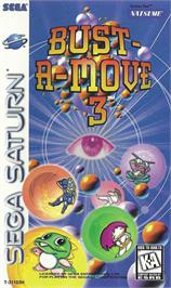 Box cover for Bust a Move 3 on the Sega Saturn.