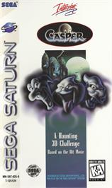 Box cover for Casper on the Sega Saturn.