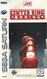 Box cover for Center Ring Boxing on the Sega Saturn.