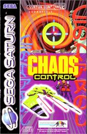 Box cover for Chaos Control on the Sega Saturn.