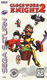 Box cover for Clockwork Knight 2 on the Sega Saturn.