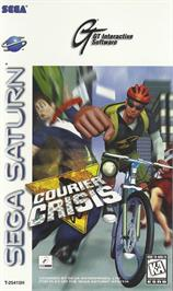 Box cover for Courier Crisis on the Sega Saturn.