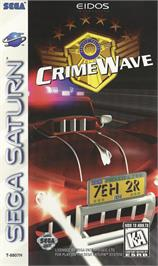 Box cover for Crime Wave on the Sega Saturn.
