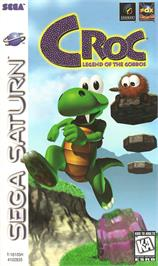 Box cover for Croc: Legend of the Gobbos on the Sega Saturn.