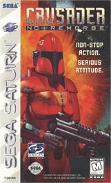 Box cover for Crusader: No Remorse on the Sega Saturn.