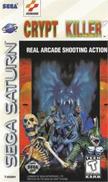 Box cover for Crypt Killer on the Sega Saturn.