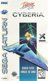 Box cover for Cyberia on the Sega Saturn.