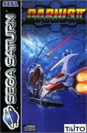 Box cover for Darius II on the Sega Saturn.