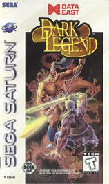 Box cover for Dark Legend on the Sega Saturn.