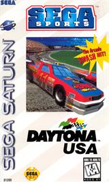 Box cover for Daytona USA on the Sega Saturn.