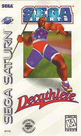 Box cover for Decathlete on the Sega Saturn.