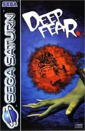 Box cover for Deep Fear on the Sega Saturn.