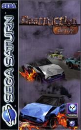 Box cover for Destruction Derby on the Sega Saturn.