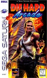 Box cover for Die Hard Arcade on the Sega Saturn.