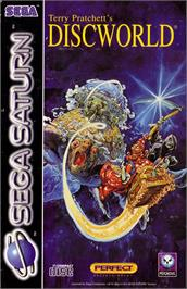 Box cover for Discworld on the Sega Saturn.