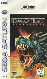 Box cover for DragonHeart: Fire & Steel on the Sega Saturn.