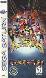 Box cover for Fighting Vipers on the Sega Saturn.