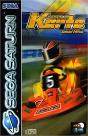 Box cover for Formula Karts: Special Edition on the Sega Saturn.