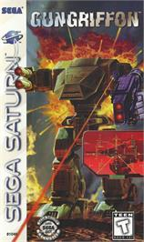Box cover for Gungriffon: The Eurasian Conflict on the Sega Saturn.