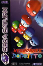 Box cover for Hebereke no Popoitto on the Sega Saturn.