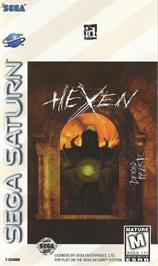 Box cover for Hexen on the Sega Saturn.