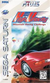 Box cover for High Velocity: Mountain Racing Challenge on the Sega Saturn.