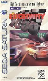 Box cover for Highway 2000 on the Sega Saturn.