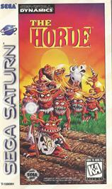 Box cover for Horde on the Sega Saturn.