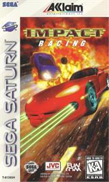 Box cover for Impact Racing on the Sega Saturn.