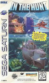 Box cover for In The Hunt on the Sega Saturn.