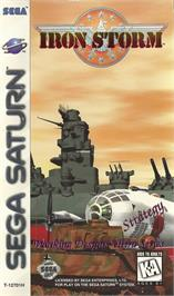 Box cover for Iron Storm on the Sega Saturn.