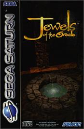 Box cover for Jewels of the Oracle on the Sega Saturn.