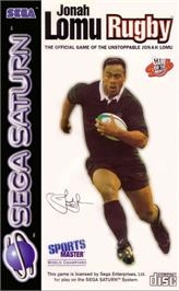 Box cover for Jonah Lomu Rugby on the Sega Saturn.