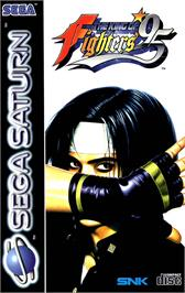 Box cover for King of Fighters '95, The on the Sega Saturn.