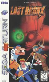 Box cover for Last Bronx on the Sega Saturn.