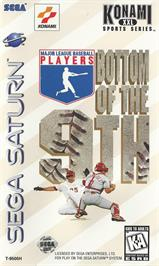 Box cover for MLBPA: Bottom of the 9th on the Sega Saturn.