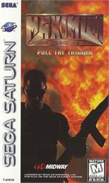 Box cover for Maximum Force on the Sega Saturn.