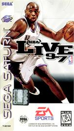 Box cover for NBA Live '97 on the Sega Saturn.