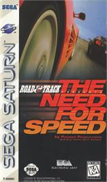 Box cover for Need for Speed on the Sega Saturn.