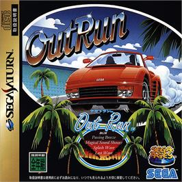 Box cover for Out Run on the Sega Saturn.