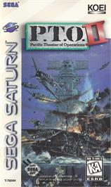 Box cover for P.T.O.: Pacific Theater of Operations 2 on the Sega Saturn.