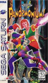 Box cover for Pandemonium on the Sega Saturn.