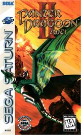 Box cover for Panzer Dragoon II: Zwei on the Sega Saturn.