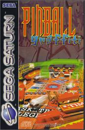 Box cover for Pinball Graffiti on the Sega Saturn.