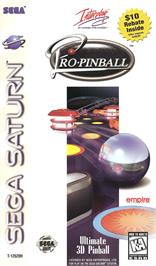 Box cover for Pro Pinball: The Web on the Sega Saturn.