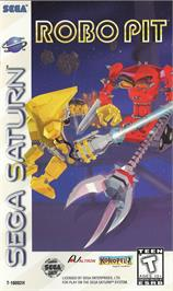 Box cover for Robo Pit on the Sega Saturn.