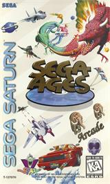 Box cover for SEGA AGES: Columns Arcade Collection on the Sega Saturn.
